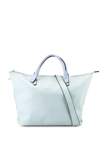 Keddo green and blue Rusanti Tote Bag 74147ACF867E3EGS_1