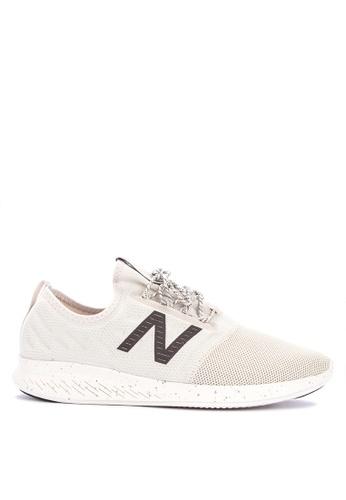 New Balance beige Coast Lace-Up Fuel Core Shoes 74B3ASHF61EFADGS_1