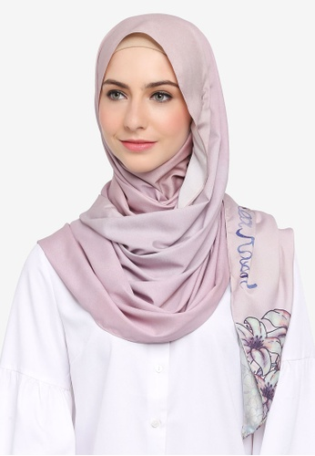 SHEA RASOL pink Aisyah Shawl Legacy Collection 5B2D8AA529035EGS_1