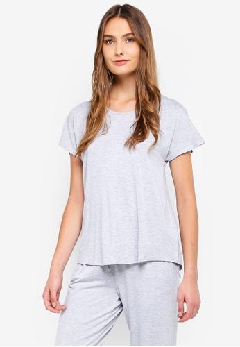 Cotton On Body grey Sleep Recovery Cap Sleeve T-Shirt BB9BCAA9B60D49GS_1