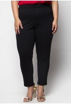 Slim Fit Plus Size Pants