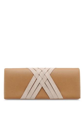 Papillon Clutch beige Kros Envelope Clutch FF740AC3719736GS_1