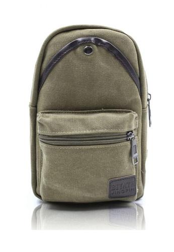 Attraxion Men's and Accessories green Attraxion Art - 639 Sling Crossbody Bag for Men 0A0D0AC0B14881GS_1