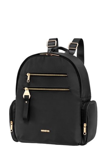 American Tourister black American Tourister Alizee IV Backpack 2 77E4BAC563562AGS_1