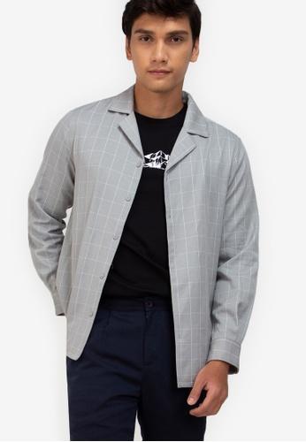 ZALORA BASICS multi Long Sleeves Bowling Shirt 724BBAAB03CB3FGS_1