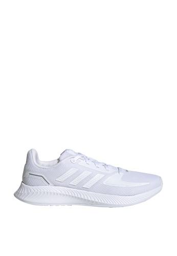 Adidas 白色 runfalcon 2.0 k shoes E8E78KS10368E3GS_1
