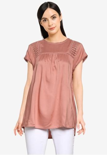 Vero Moda pink Debbie Top 3AFDCAA749A942GS_1