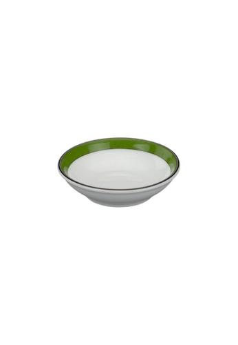 Minh Long I white Jasmine: Porcelain Sauce Dish (9cm) 35792HL2C293EDGS_1