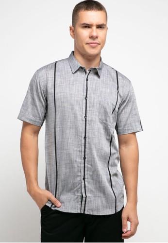 OLLten grey O/L-Men Shirt C6F2DAA04C4578GS_1