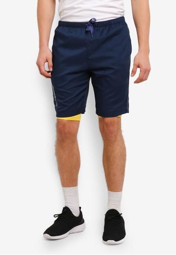 2GO navy GO Dry Training Shorts 2G729AA0S5W2MY_1