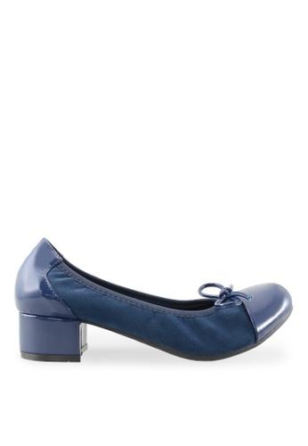 Footspot blue FOOTSPOT - Heels with Patent Cap Toe FO296SH2VITHHK_1