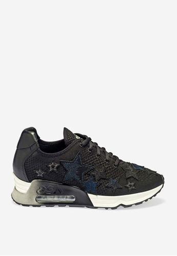 ASH 黑色 Lucky Star - 黑色星形元素運動鞋 448A4SHCC67DC4GS_1
