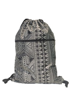 Hanz Small Aztec 4 Drawstring Bag