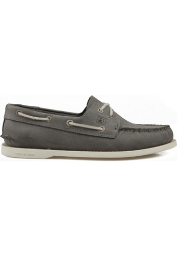 paperplanes grey Boat Island Casual Premium Handmade Leather Loafers Shoes US Women Size PA355SH09PMGSG_1