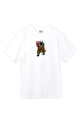 BSX white BSX New year of Ox limited eddition T-shirt 88A19AA233C604GS_1