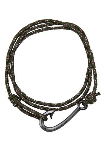 海esprit旗艦店軍風手鍊, 飾品配件, 手環