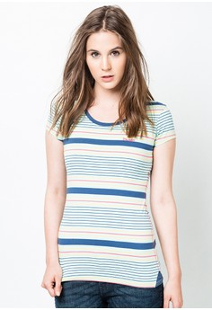 Classic Stripe Short Sleeve Tee