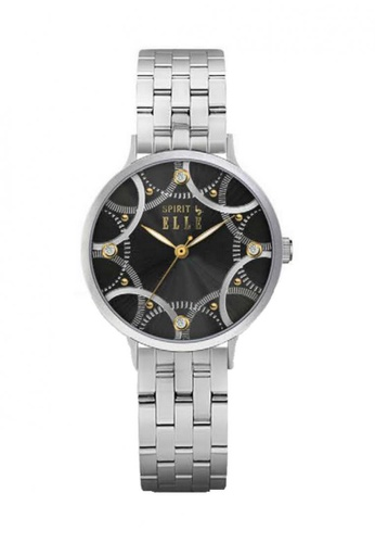 ELLE black Fashion Ladies Watch SP241AC58UCJMY_1