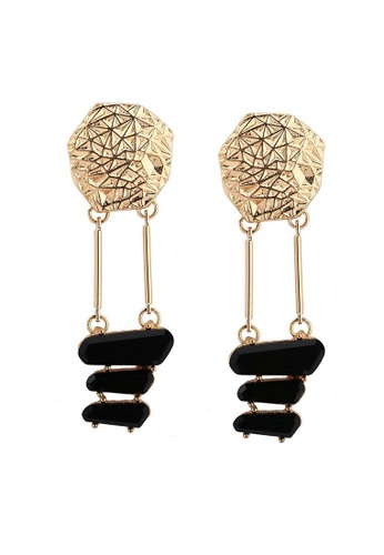 A-Excellence gold Open Design Round Earrings 6F5AEAC58A768DGS_1