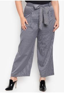 3d9d6a572fc Plus Size Wide Leg Pants 78320AA46D631AGS 1