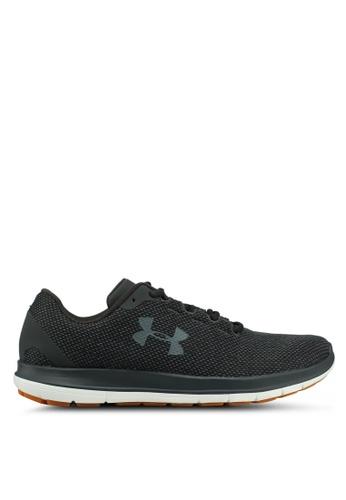 Under Armour grey UA Remix FW18 Shoes 0DE8ESHAAF3130GS_1