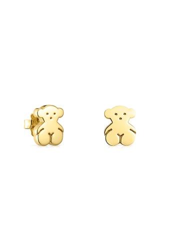 Tous gold TOUS Vermeil Silver Sweet Dolls Earrings A683FACD14EB30GS_1