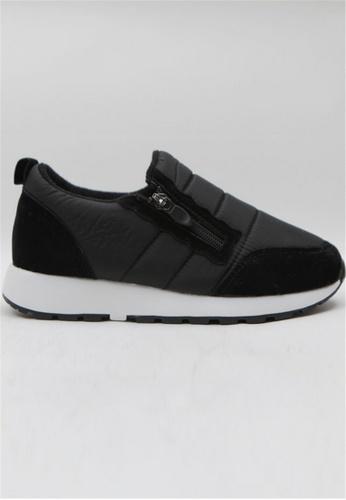 Crystal Korea Fashion 黑色 韓國製冬季百搭防水休閒鞋 762B6SHD19FB78GS_1