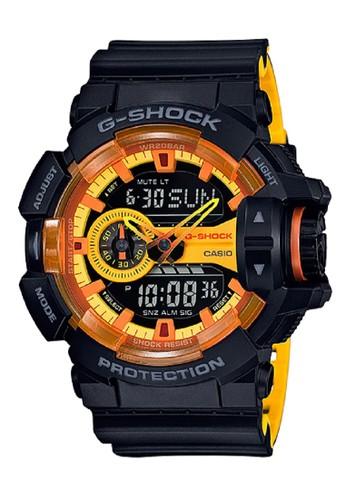 G-Shock black and yellow G-Shock Men GA-400BY-1A Black Yellow F9B89AC4C786CFGS_1