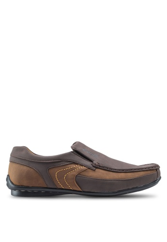 Louis Cuppers brown Classis Loafers LO977SH50ZKVMY_1