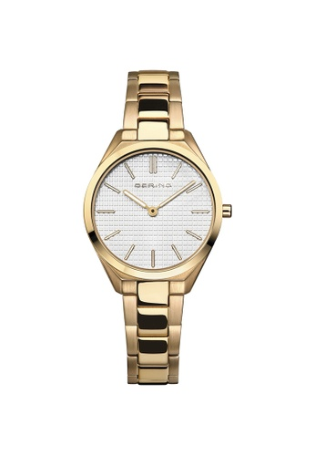 Bering gold Bering Ultra Slim  White Women's Watch (17231-734) 6ED6EAC9F04D76GS_1