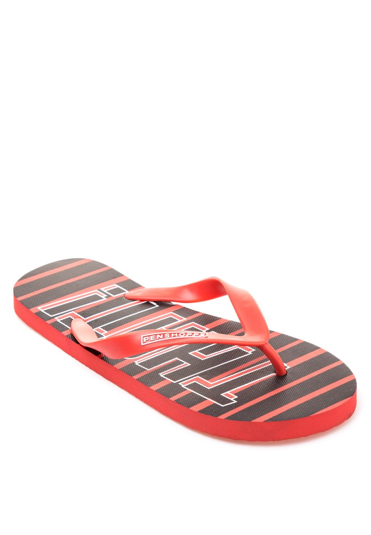 UAAP Collection: Mens Printed Flipflops