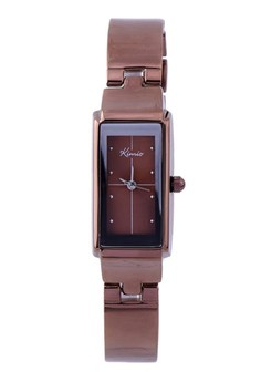 Kimio Youthful Stainless Steel Wire Quartz Watch - Copper