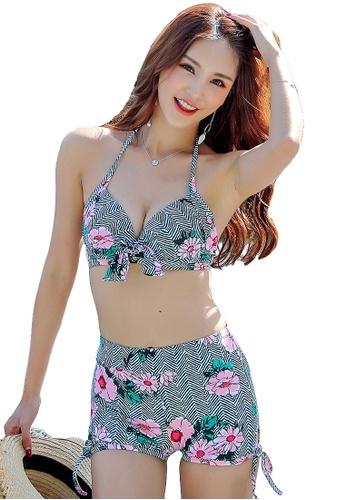 YG Fitness multi (3PCS) Vintage Cover Belly Bikini Set 1F0C7US3D4C239GS_1