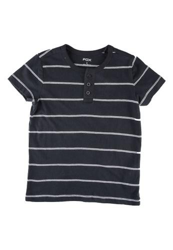 FOX Kids & Baby blue Kids-Boys Striped Tee 929A2KAEFF0AC0GS_1