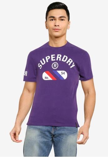 SUPERDRY 紫色 Vintage Sport T-Shirt - Sportstyle Code C10F6AA412325CGS_1