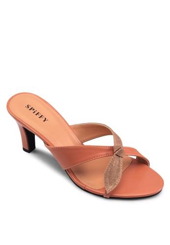 交zalora 折扣碼叉帶時尚涼鞋, 女鞋, 高跟鞋