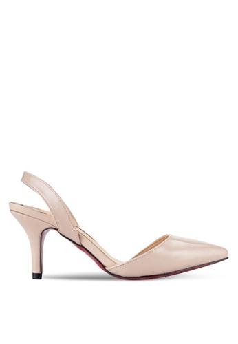Sunnydaysweety 白色 2018 新款腳踝後綁帶高跟鞋 A0214BE 55C69SHF841121GS_1