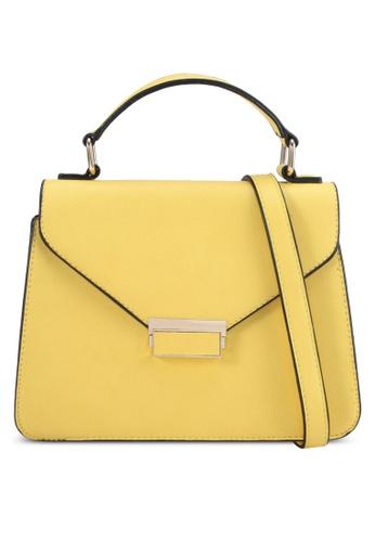 Keddo yellow Abigail Slingbag 0646AACA6AECBAGS_1