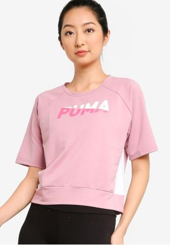 PUMA pink Modern Sports Sweat Tee 4FF11AA665447BGS_1