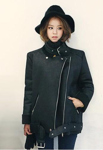 黑色麂皮絨外套, 服飾, 外esprit 香港套