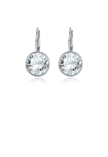 Glamorousky white Elegant Cubic Zircon Earrings 6D6A5AC6A0B943GS_1
