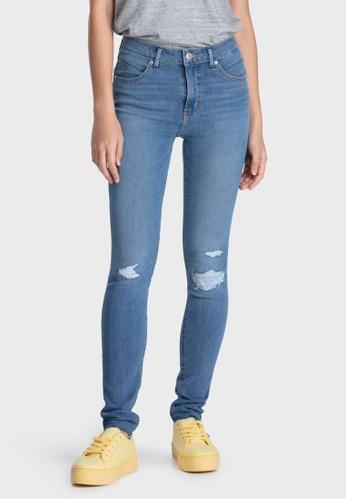 Levi's blue Levi's Revel Shaping High Rise Skinny Jeans Women 74896-0015 262E6AA76B6BE6GS_1