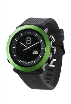 COGITO Watch Classic Rubber - Green