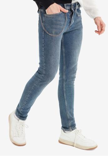 Trendyol blue Indigo Skinny Jeans E9C16AA1888576GS_1