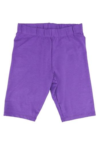 LC Waikiki purple Girls Basic Cotton Tights 3C24BKA220F2BFGS_1