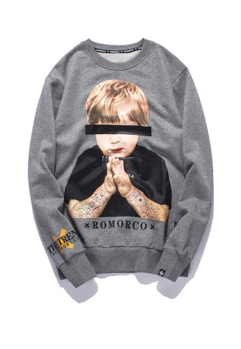 HAPPY FRIDAYS Trend Printed Hoodies RS73 076A6AA50865B5GS_1