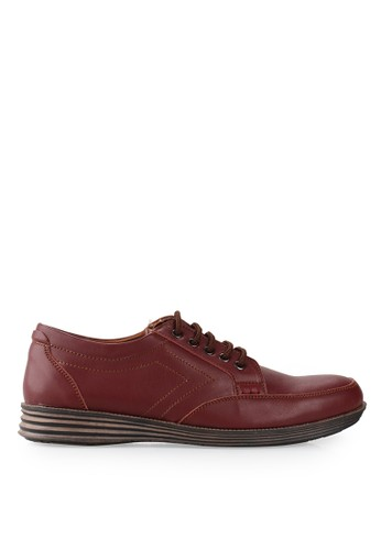 Dr. Kevin red Derbies 13276 Leather DR982SH32EUTID_1
