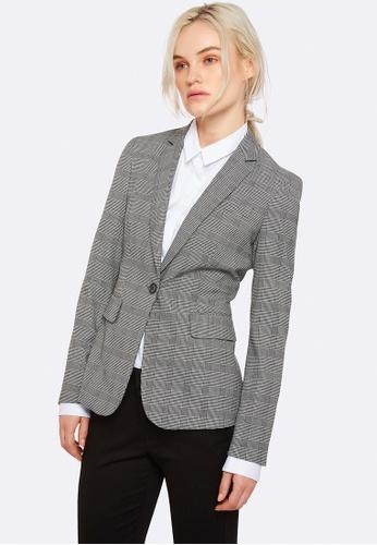 Oxford grey Alexa Check Suit Jacket 2D503AAB359936GS_1