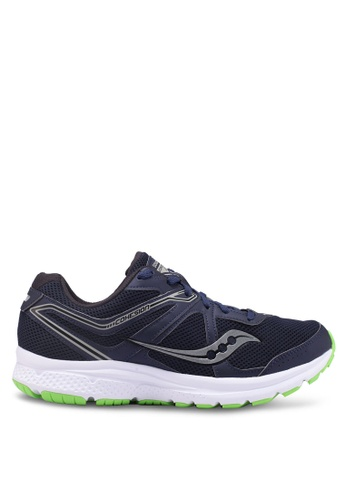 Saucony navy Cohesion 11 Shoes SA304SH0SW5DMY_1