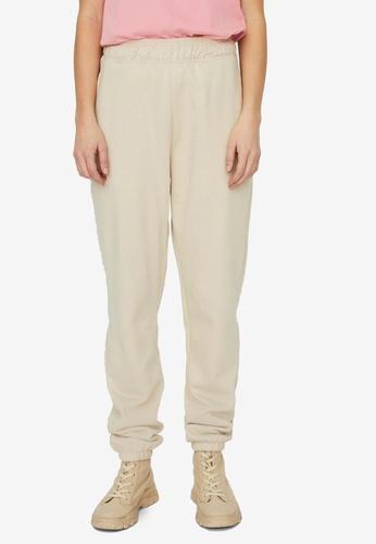Vero Moda beige Odez High Waist Sweatpants AF8E3AA0B2EEEBGS_1